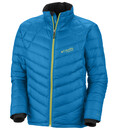 Columbia Men's Prarion Down Jacket compass blue/leapfrog